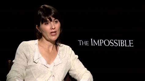 Maria Belon 'The Impossible' Interview - YouTube