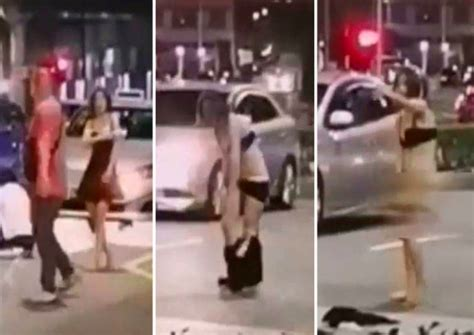 Woman arrested after stripping off clothes in argument