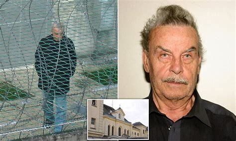 Josef Fritzl 'is dying' ten years after he's jailed for