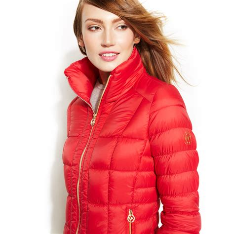 Michael kors Michael Packable Quilted Down Puffer Coat in