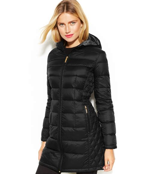 Lyst - Michael Kors Michael Quilted Down Packable Puffer