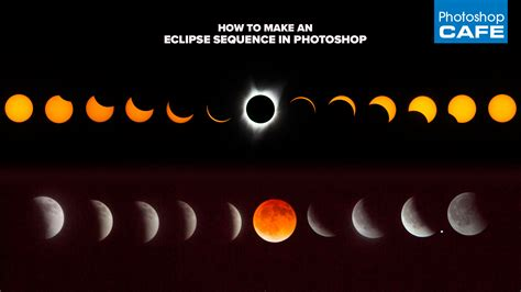How to Photograph an eclipse and make an eclipse sequence