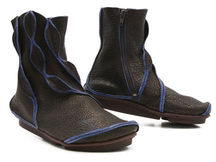 Trippen Treasure in Brown w/Blue Edge : Ped Shoes - Order