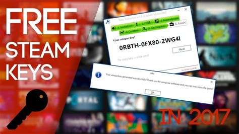 How to get Steam Games Keys FREE!!! 2017 || (100% WORKING